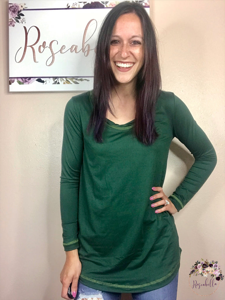 Small ONLY Emerald City Top - RoseabellaCo