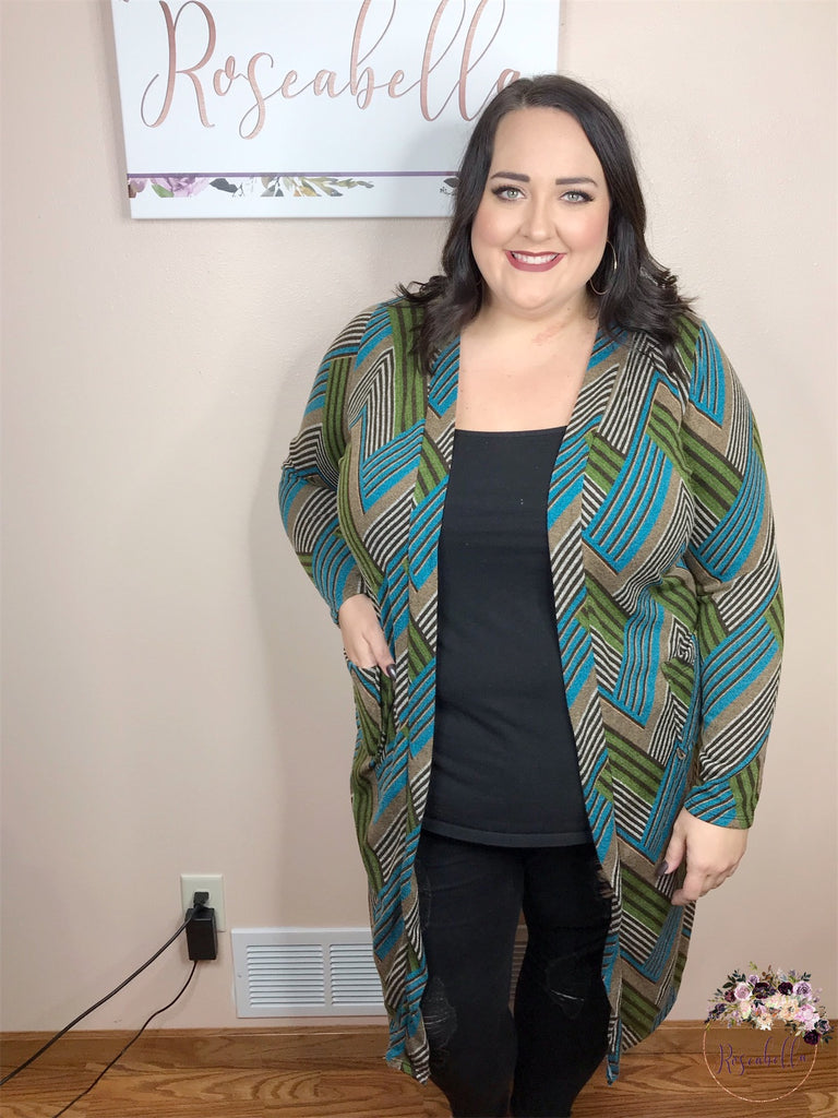 PLUS SIZE The Statement Duster Cardigan - RoseabellaCo