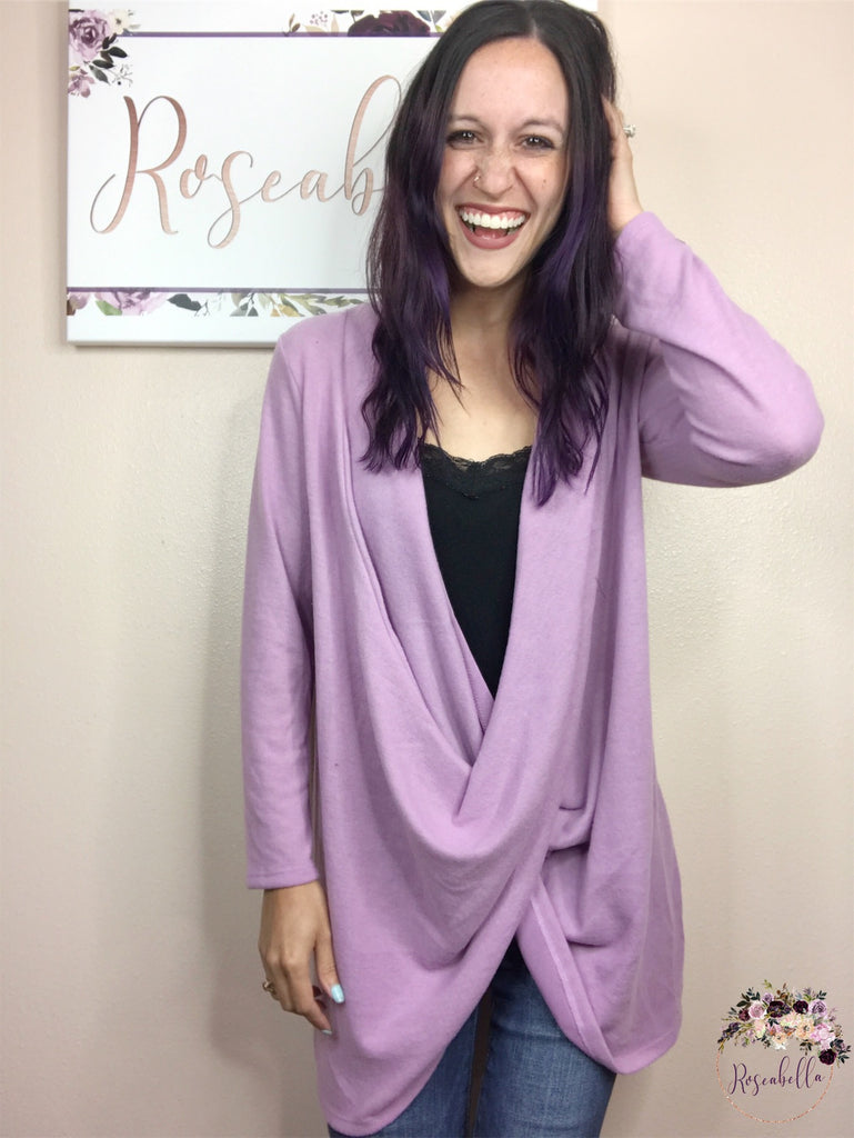 S & XL ONLY Twisted Sister Cardigan - RoseabellaCo