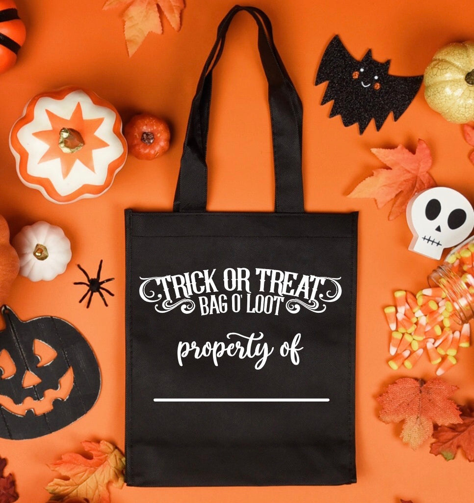 Halloween Trick or Treat Bags - RoseabellaCo