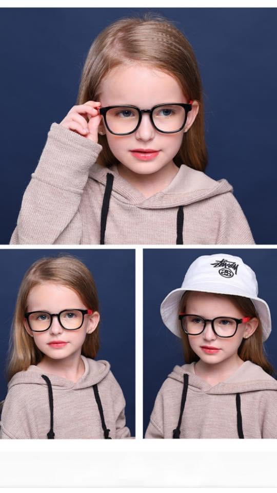 Kids Blue Light Blocking Glasses - Roseabella