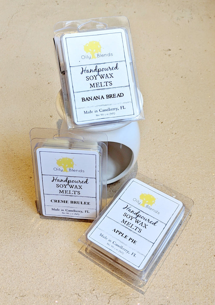 Fall-Scented Soy Wax Melts - RoseabellaCo