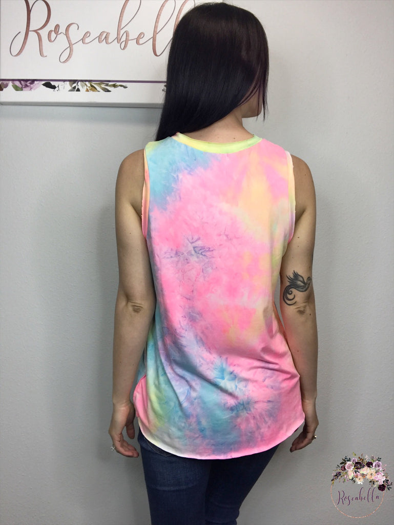 S-L ONLY Tie-Dye For Tank - RoseabellaCo