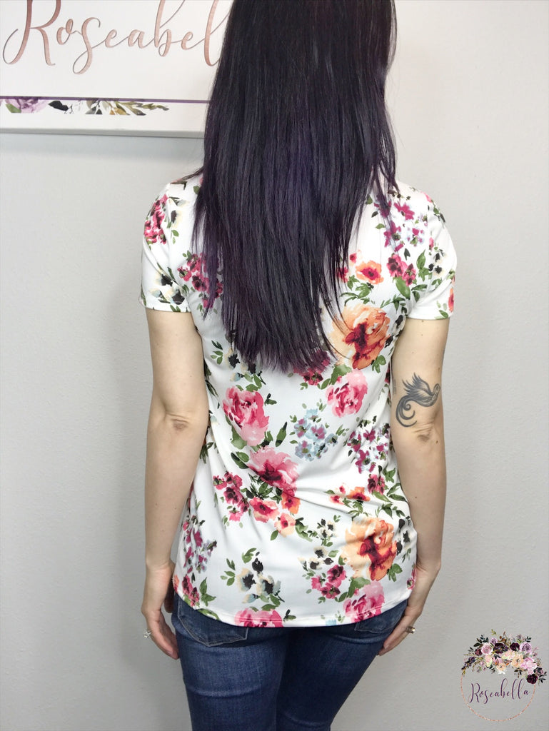 S & M ONLY The Pocket Full of Posies Top - RoseabellaCo