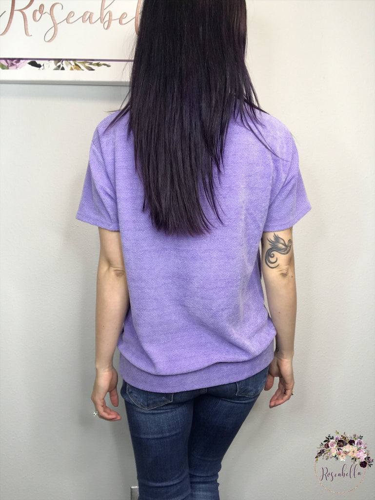 M, L, XL ONLY The Lilac Sweetheart Top - RoseabellaCo