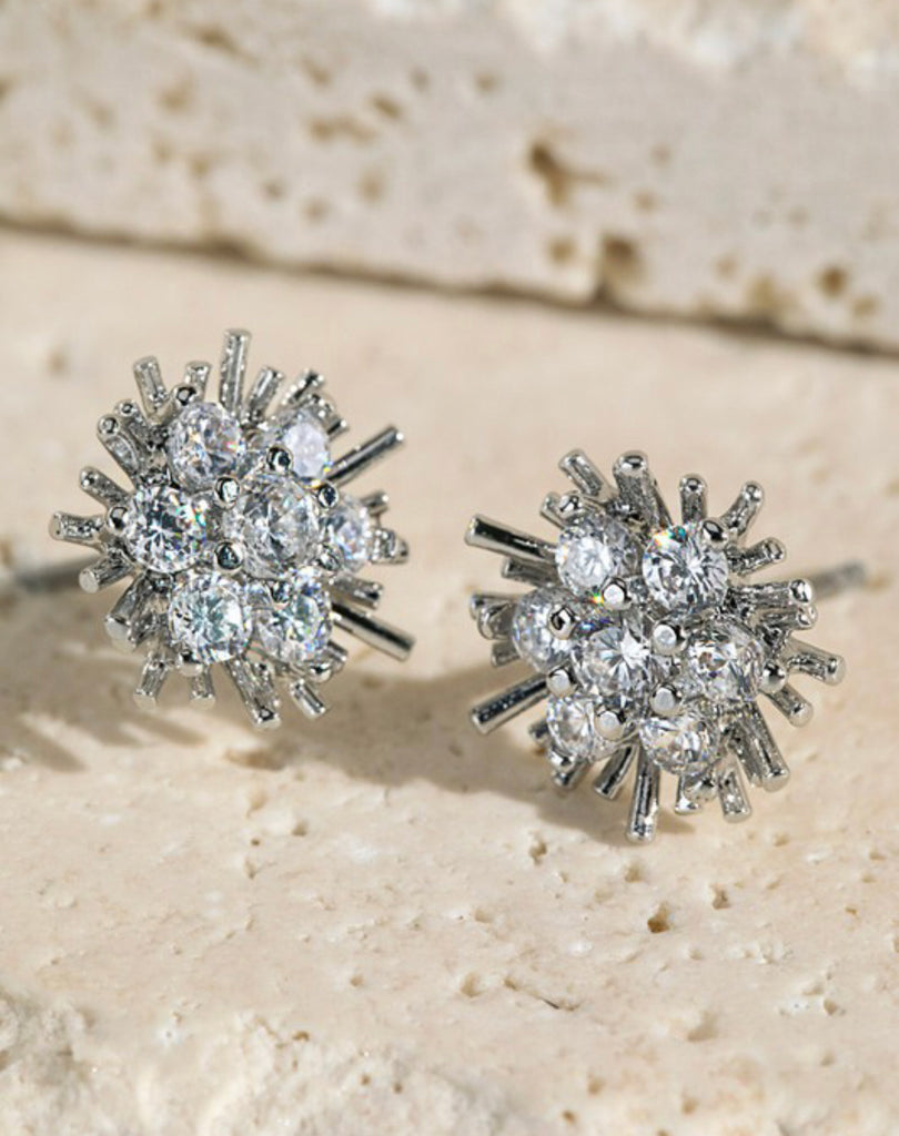 Sun-Inspired CZ Earrings - RoseabellaCo