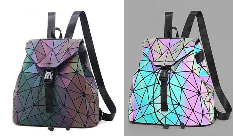 Holographic Backpack - RoseabellaCo