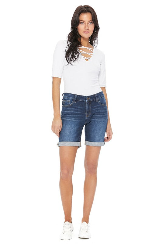 Small ONLY Judy Blue Bermuda Shorts - RoseabellaCo