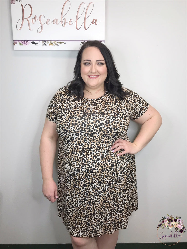 REG & PLUS The Pretty Kitty Dress - RoseabellaCo