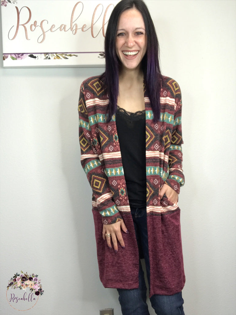 M & L ONLY The Adventurer Cardigan - RoseabellaCo