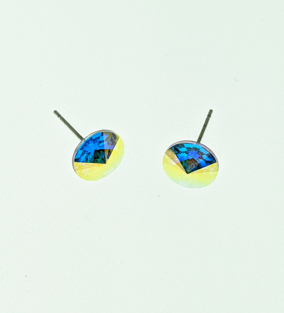 Swarovski Crystal Elements Stud Earrings - RoseabellaCo