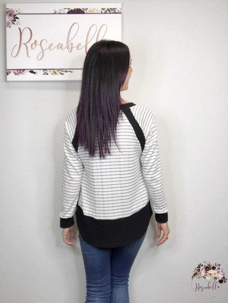 Medium ONLY Knit to Perfection Top - RoseabellaCo