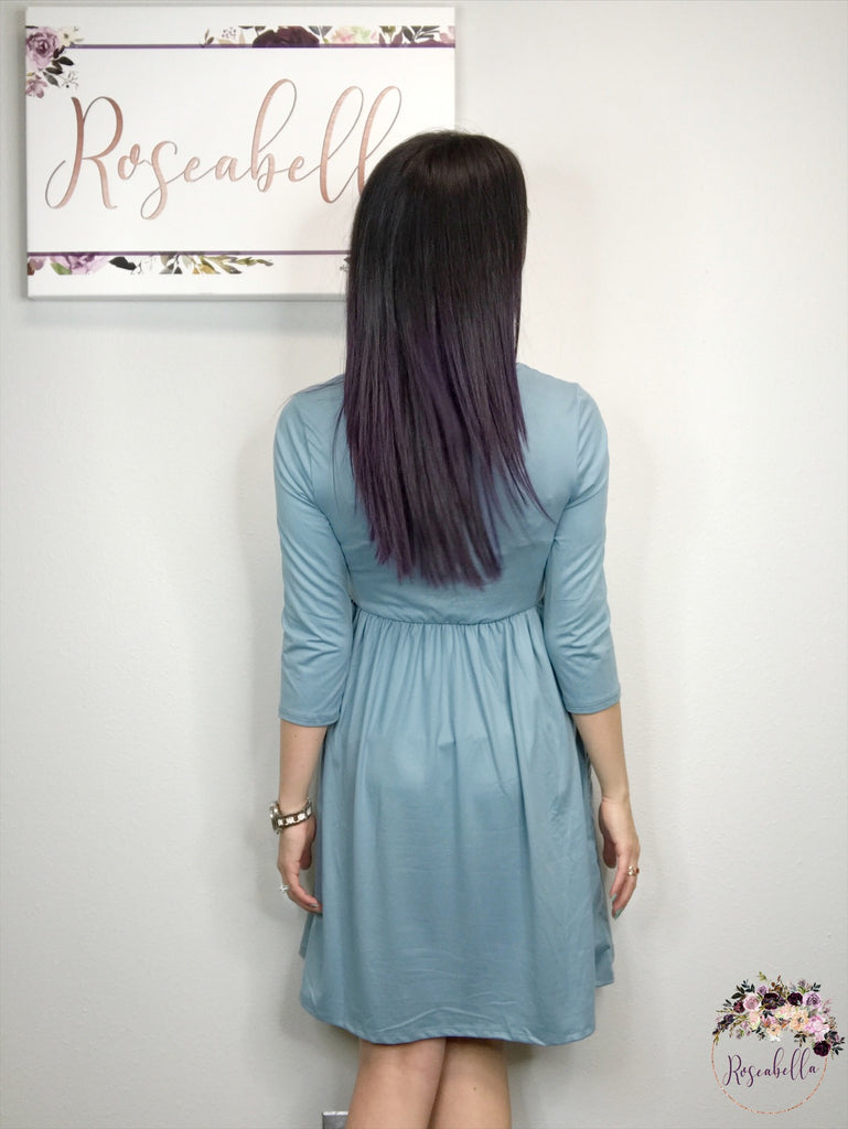 XL ONLY On Cloud Nine Dress - RoseabellaCo