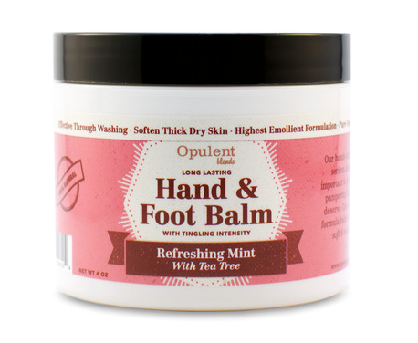 All Natural Hand & Foot Balm - Roseabella