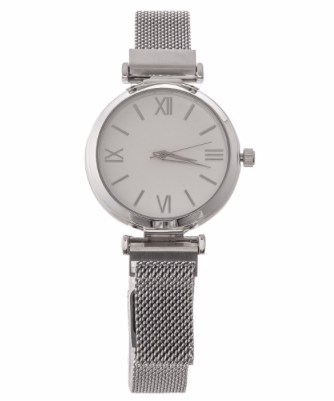 Women's Silver Watch - RoseabellaCo