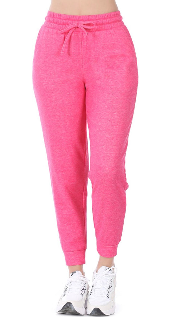 REG & PLUS Fuschia Cozy Sweatpants - RoseabellaCo