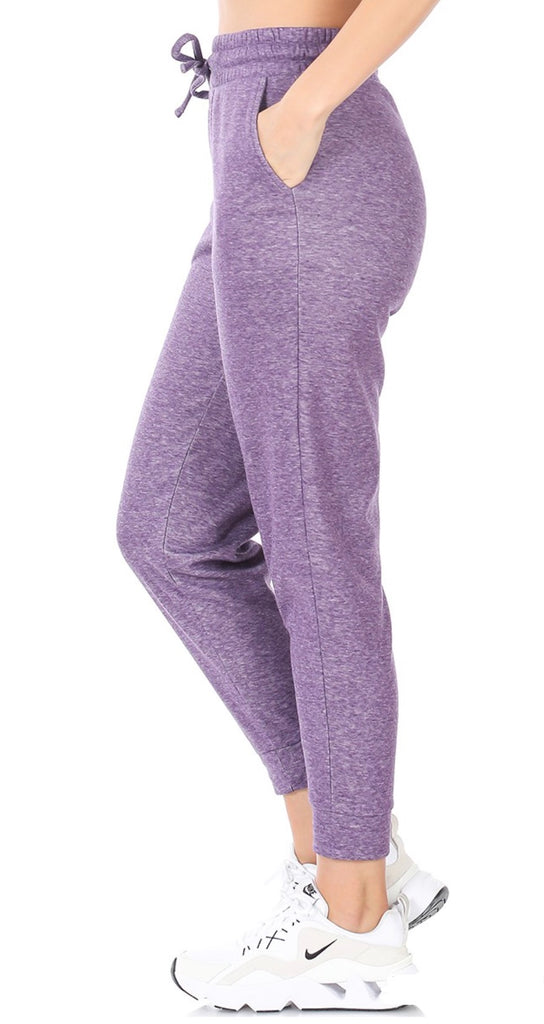 L-3XL ONLY Lilac Cozy Sweatpants - RoseabellaCo