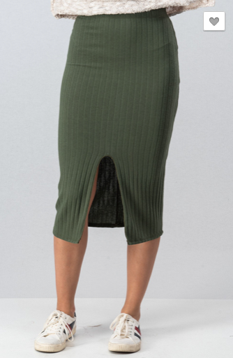 Everyone Loves Olive Skirt - Roseabella