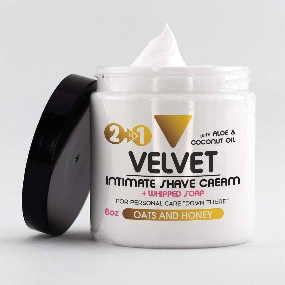 Velvet Intimate Shave - Oats and Honey - Roseabella