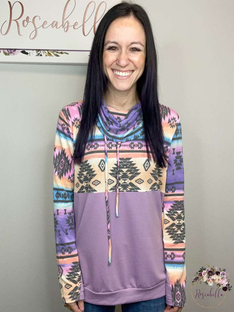 The Purple Haze Sweatshirt - Roseabella