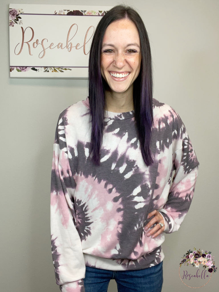 REG & PLUS The Relaxed Vibes Top - Roseabella