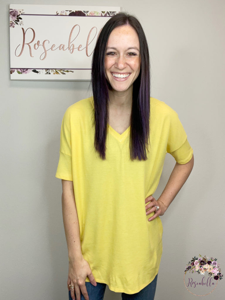 The Banana Tee - Roseabella