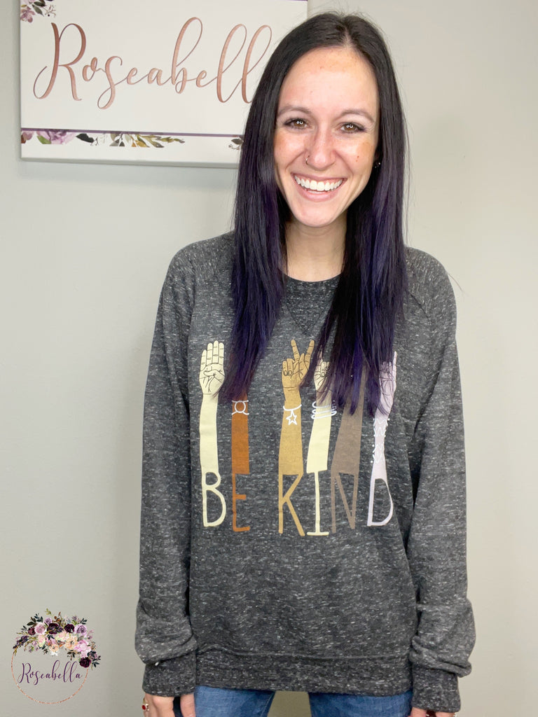 REG & PLUS Be Kind Sweatshirt