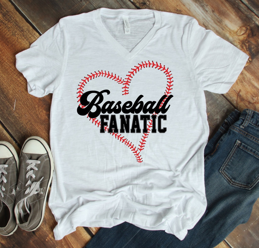 M & L ONLY Baseball Fanatic Graphic Tee - RoseabellaCo