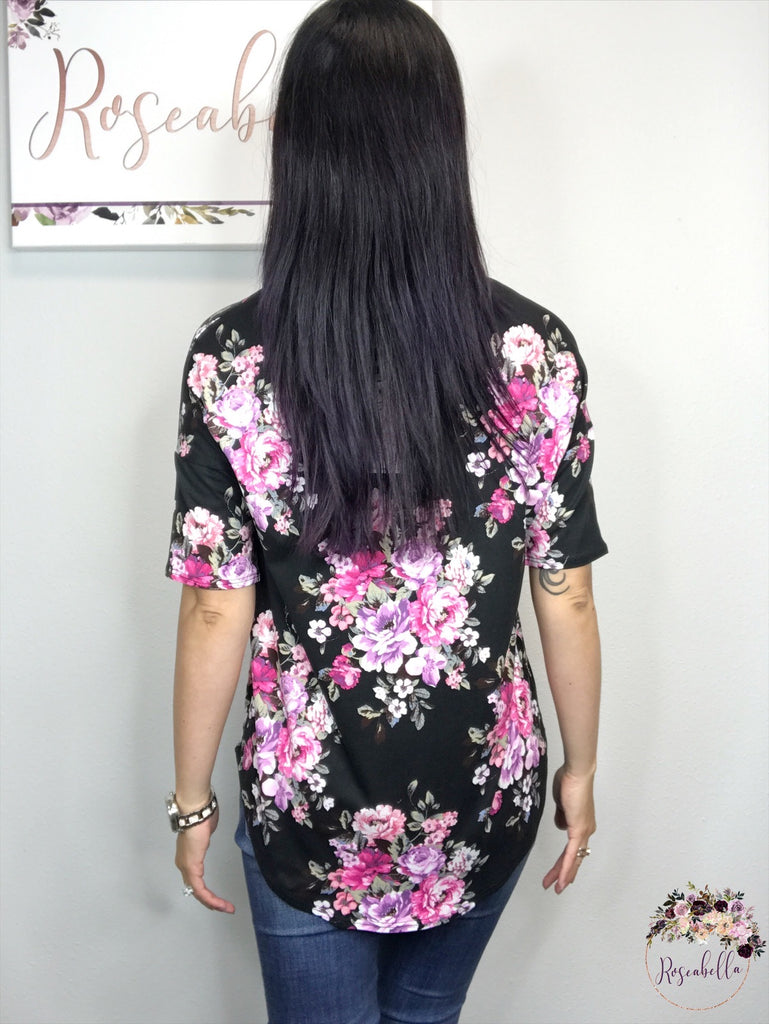 The Romantic Floral Top - Roseabella
