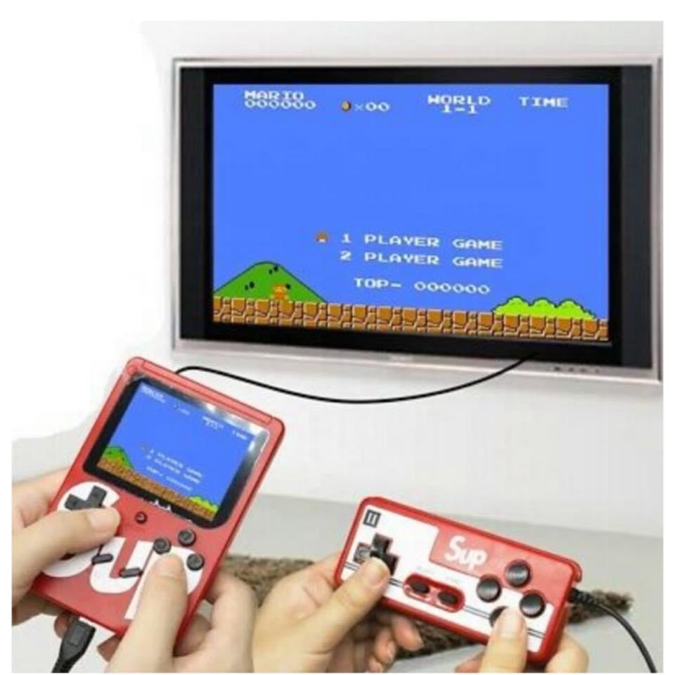 Old School Dual-Player Game Console - RoseabellaCo