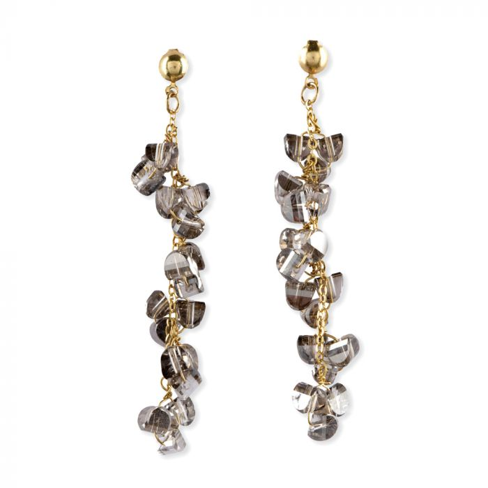 Crystal Drop Earrings - RoseabellaCo