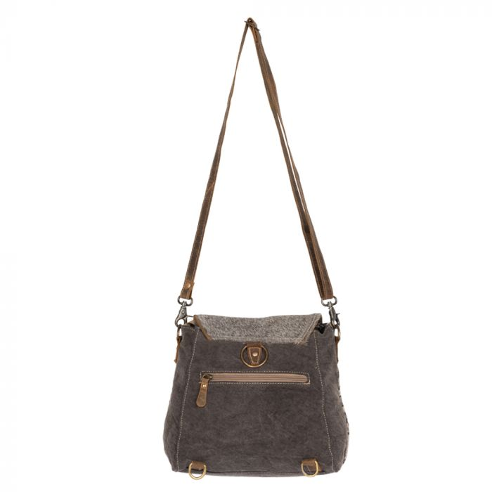 The Monochromatic Storm Shoulder Bag - RoseabellaCo