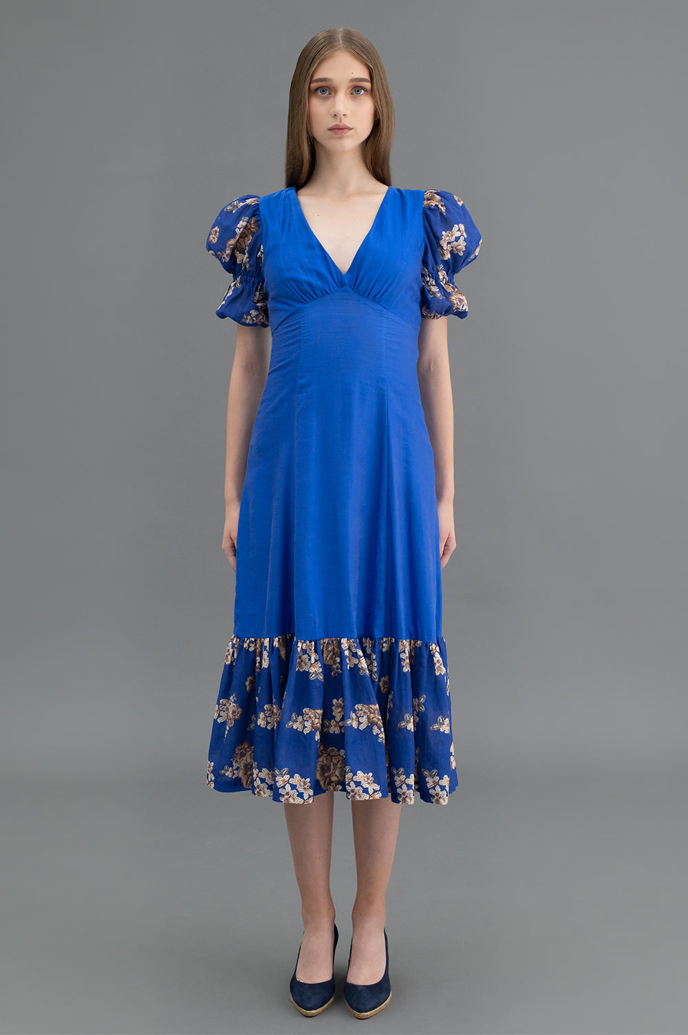 Aria Dress Blue