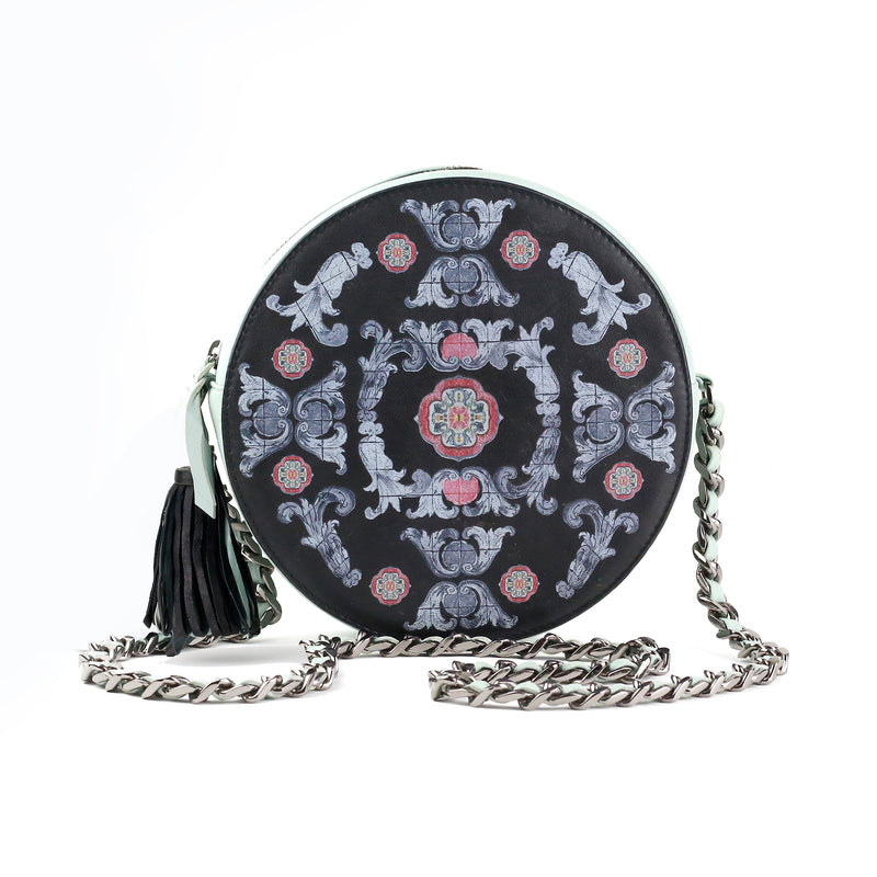 Semele Round Bag Black