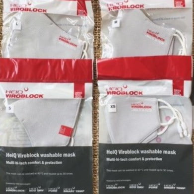 Pack of 4 - HeiQ Viroblock