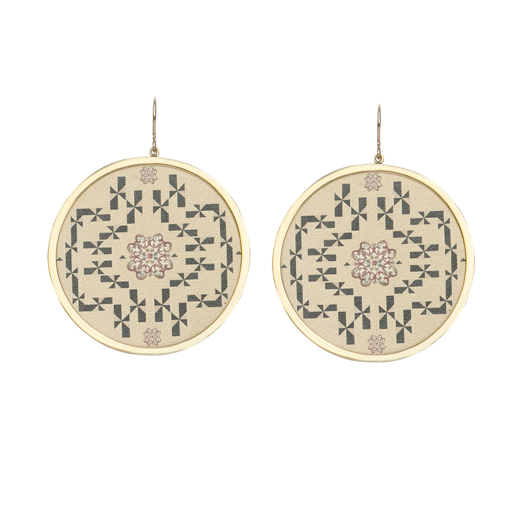 Salome Earrings Sand