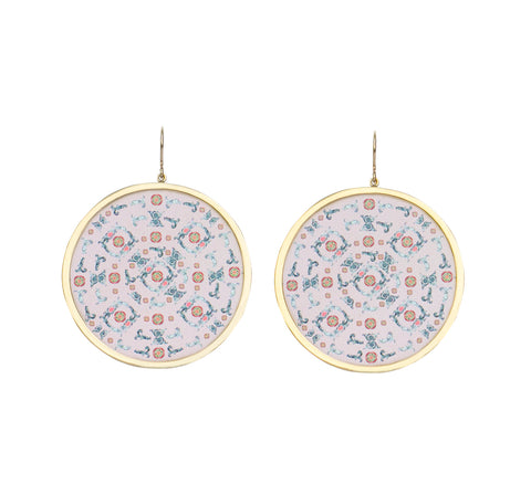 Ciro Earrings Violet