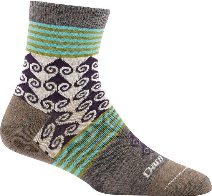 Women's Swirl Print Shorty Sock
