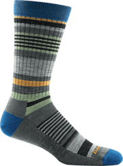 Men's Unstandard Stripe Crew Light Cushion Sock