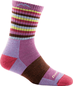 Stripes Micro Crew Cushion Sock