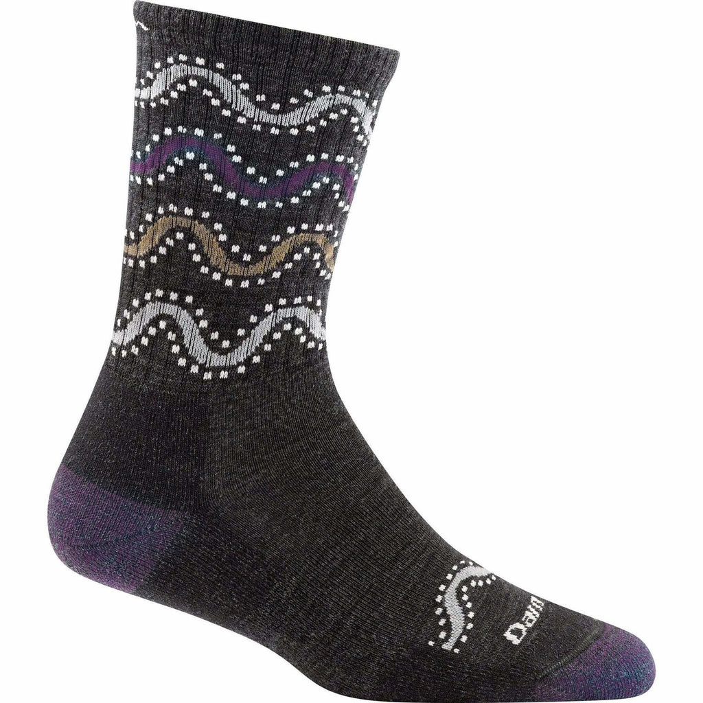 Wandering Stripe Micro-Crew Light Cushion Socks