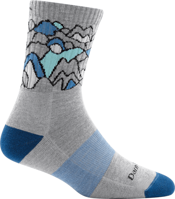 Women's Coolmax Zuni Micro Crew Cushion Socks
