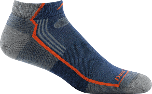 Men's Hiker No Show Light Cushion Sock