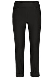 Pull On Cuffed Ankle Pant