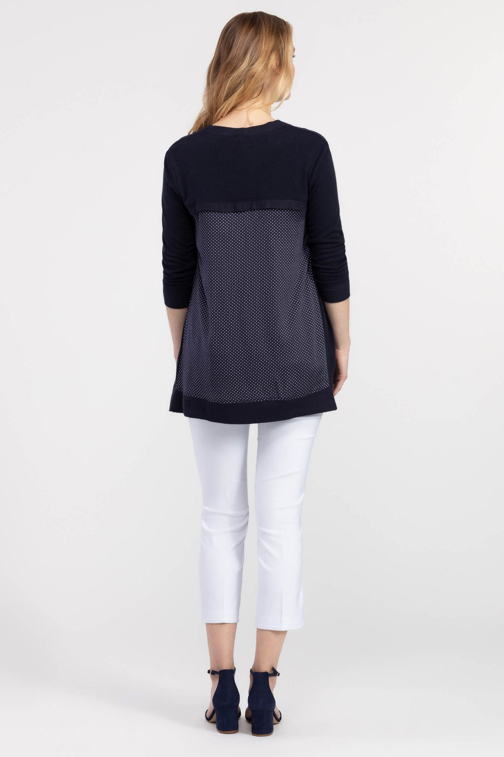 Women's 3/4 Sleeve Knit Cardigan