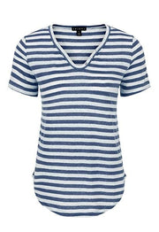 Women's SS Henley Top