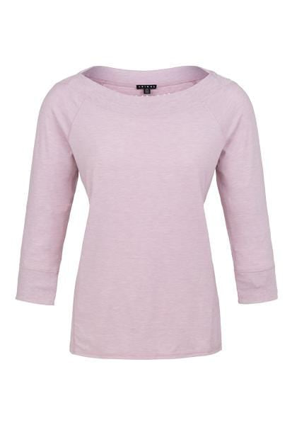 Women's 3/4 Sleeve Boat Neck Top