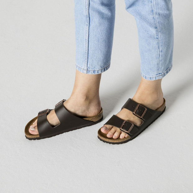 Arizona Sandal - Regular Width (Dark Brown)