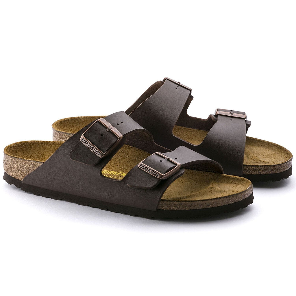 Arizona Dark Brown Sandal - Narrow Fit
