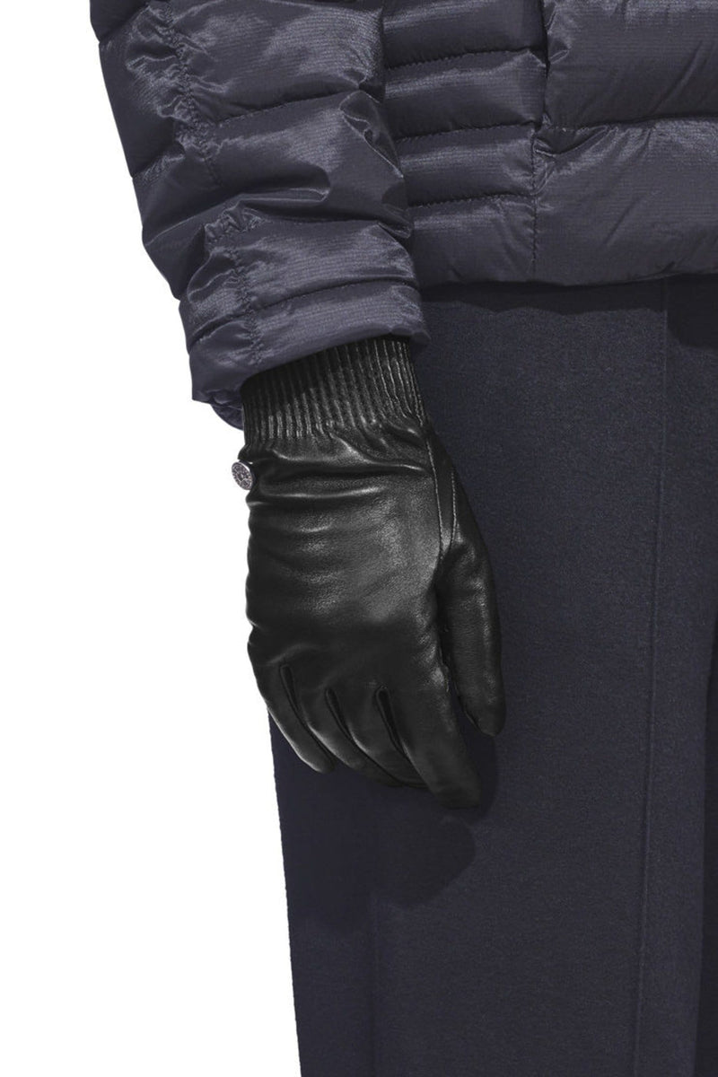 Women's Leather Rib Gloves